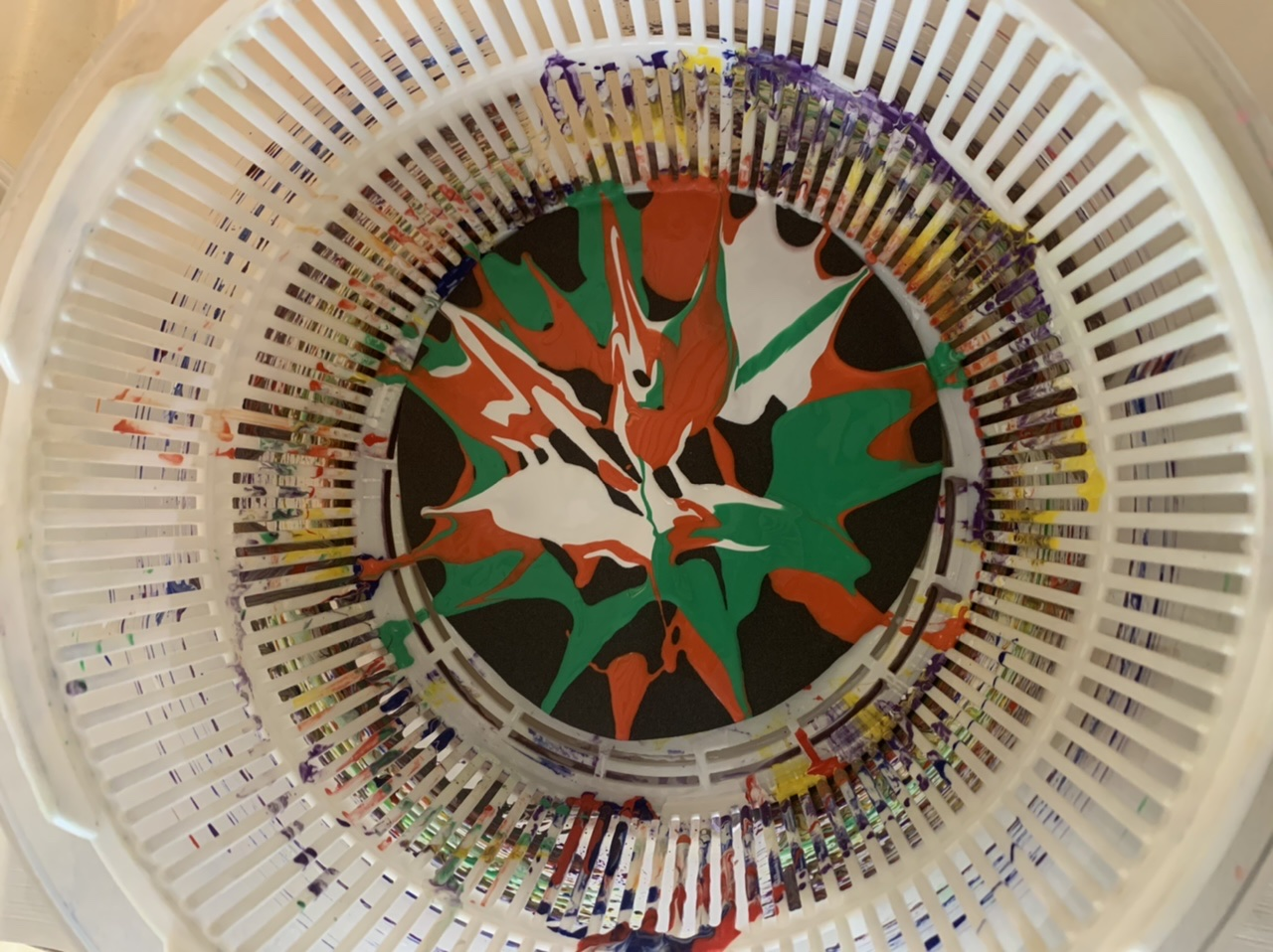 Spin Painting Fun
