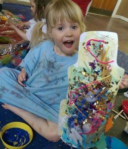 art classes for babies and children in Newcastle & Gateshead