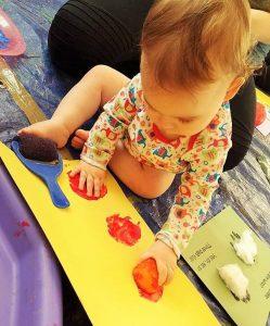 Baby art classes in Newcastle