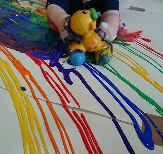 Top Tips for Painting at home with your little one