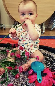 Art classes for babies and toddlers in Whickham on Wednesdays