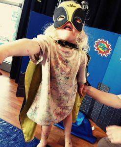 artventurers superhero class