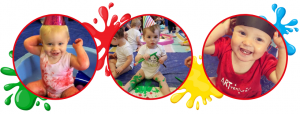 baby arty messy play parties