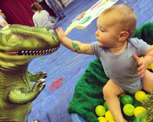 art classes for babies and children in Newcastle