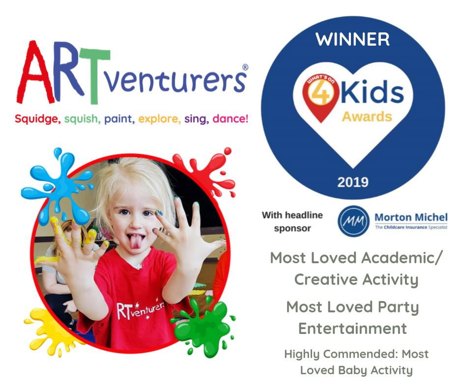 award winning art classes for babies and children