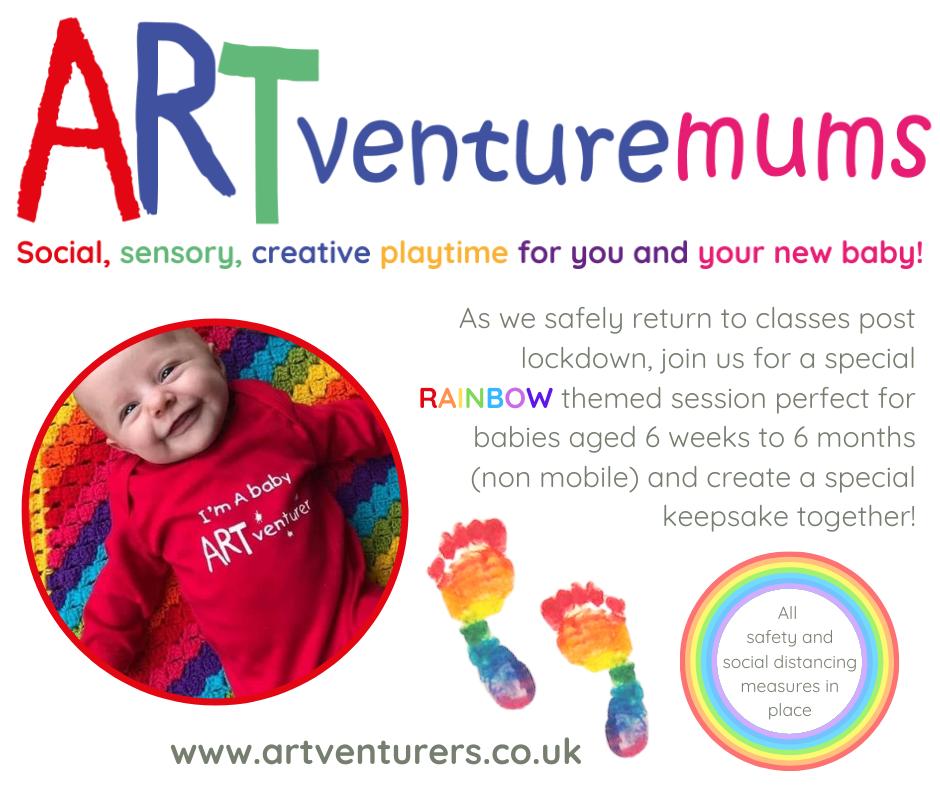 artventuremums class for new babies