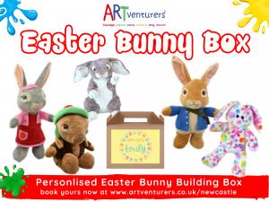 build an easter bunny