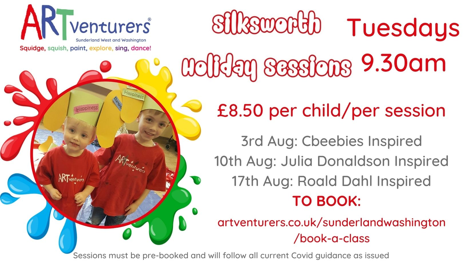 Family Summer Holiday Sessions Silksworth