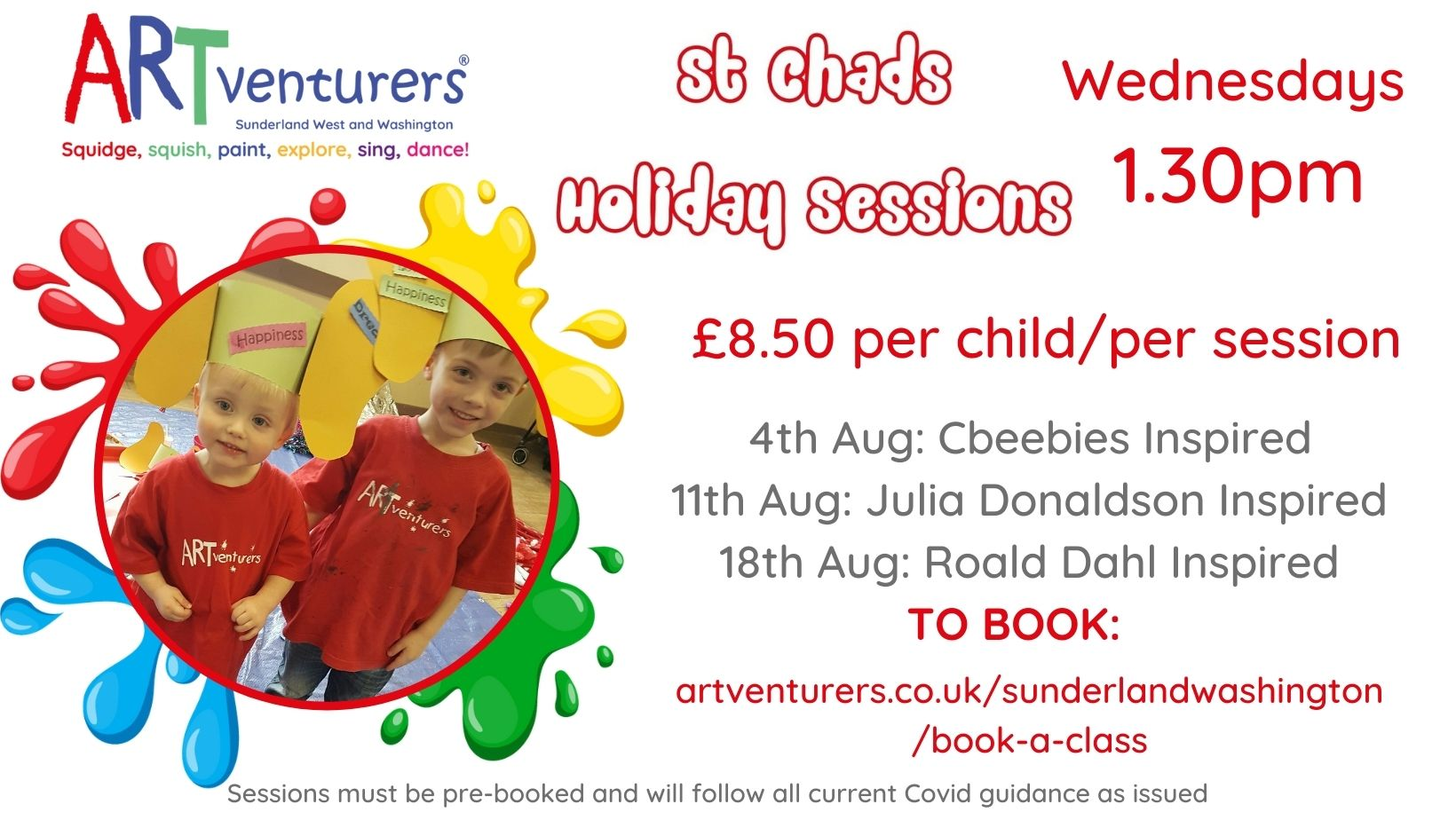 Family Summer Holiday Sessions St Chads Sunderland