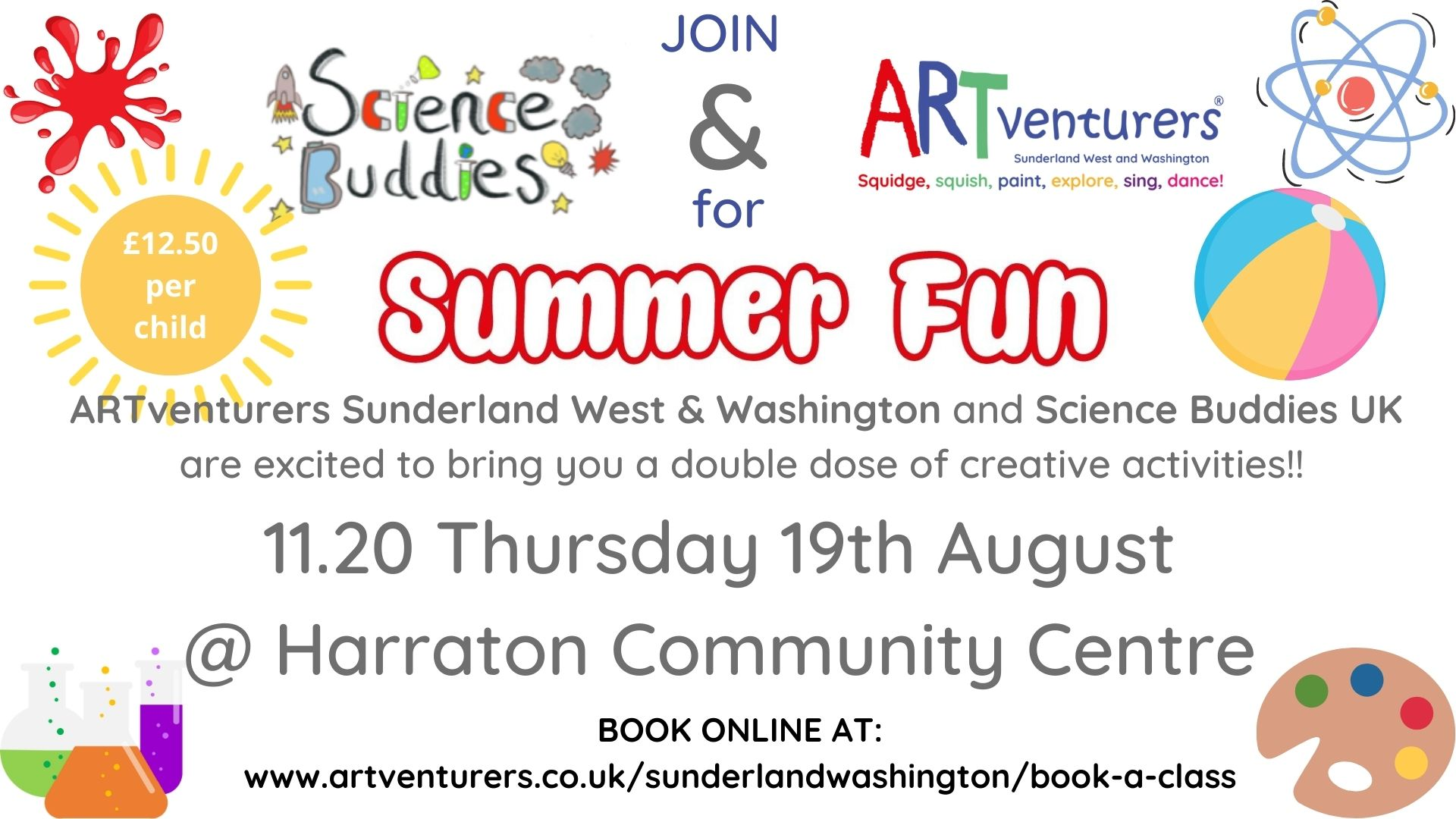 science and art for children in Washington