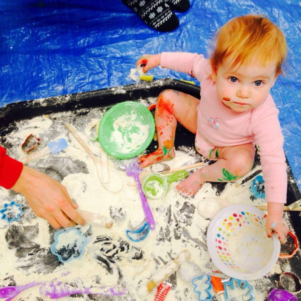 Messy Playroom: Colourful, Messy Baby And Children's Art