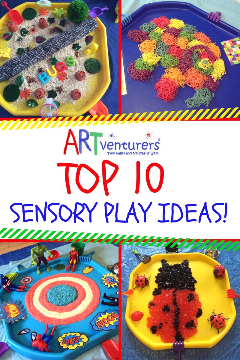 Artventurers Tyne Valley Top 10 Sensory Play Ideas Artventurers Tyne Valley Newcastle West