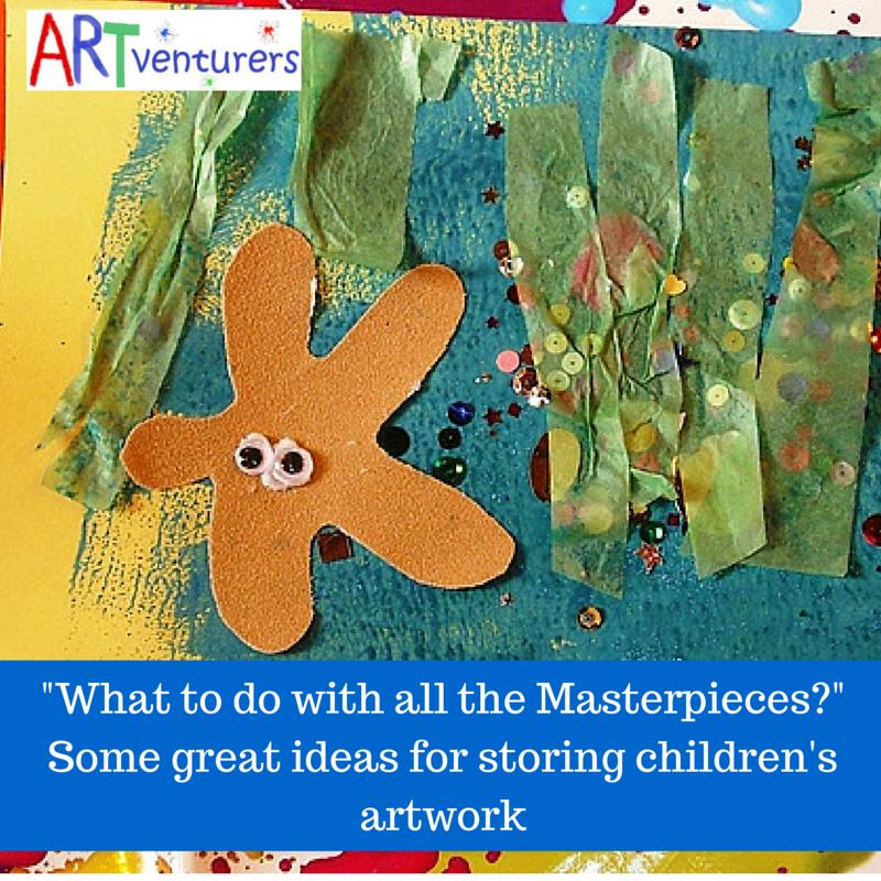 Storing artwork blog image - link to the blog post