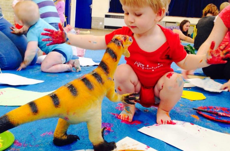 10 Reasons Why Art and Creative Play is so important for Children!