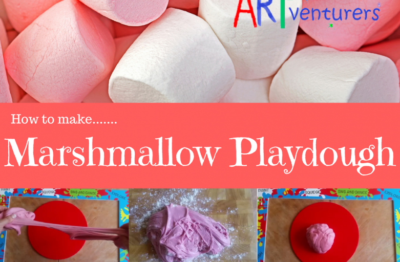 How to make Marshmallow Play Dough!