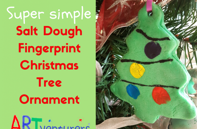 we love homemade tree decorations and these salt dough fingerprint trees are super cute and a lovely keepsake for years to come