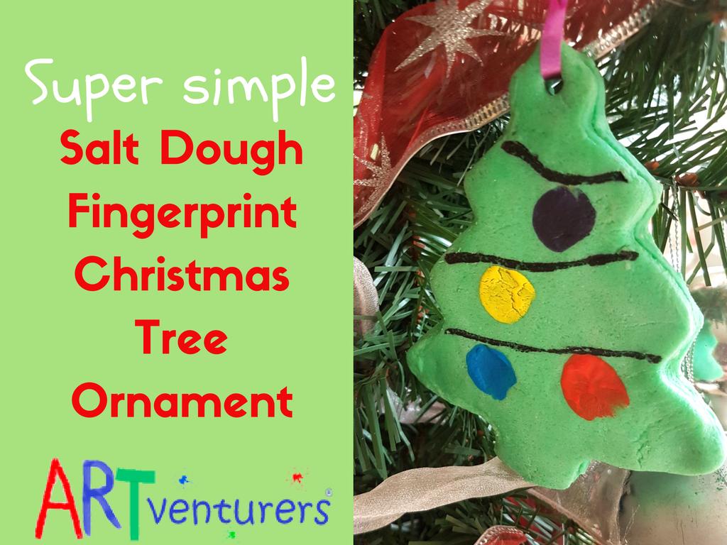 Children Christmas Tree Decorations.Salt Dough Christmas Tree Ornaments