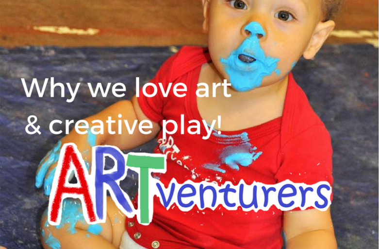 Why we love art and creative play!