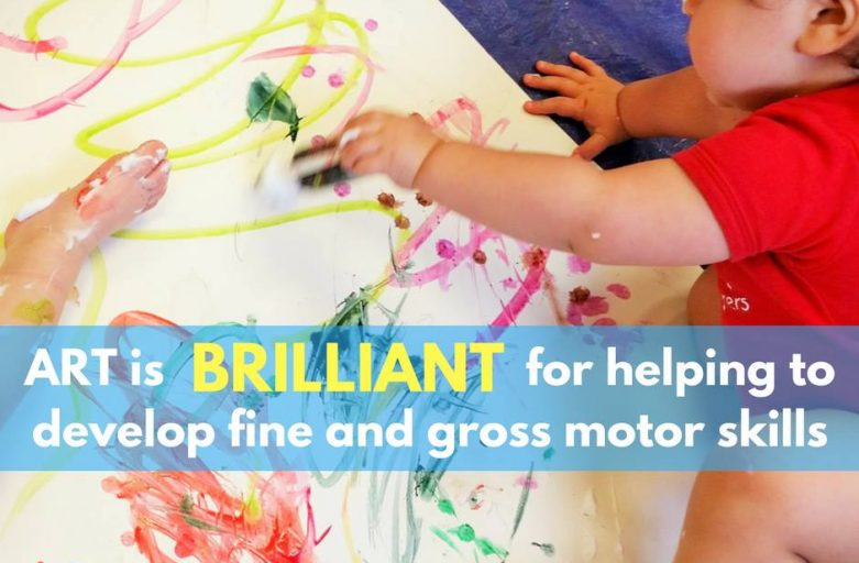 Why ART is brilliant for helping develop motor skills!