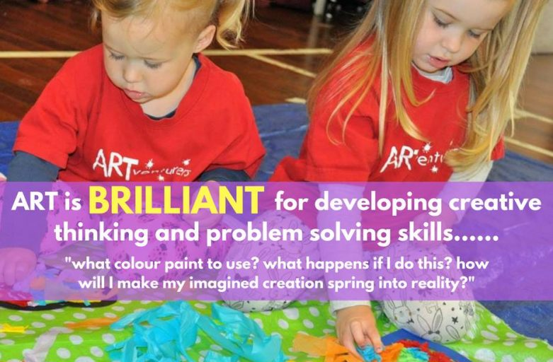 ART is brilliant for developing creative and problem solving skills!