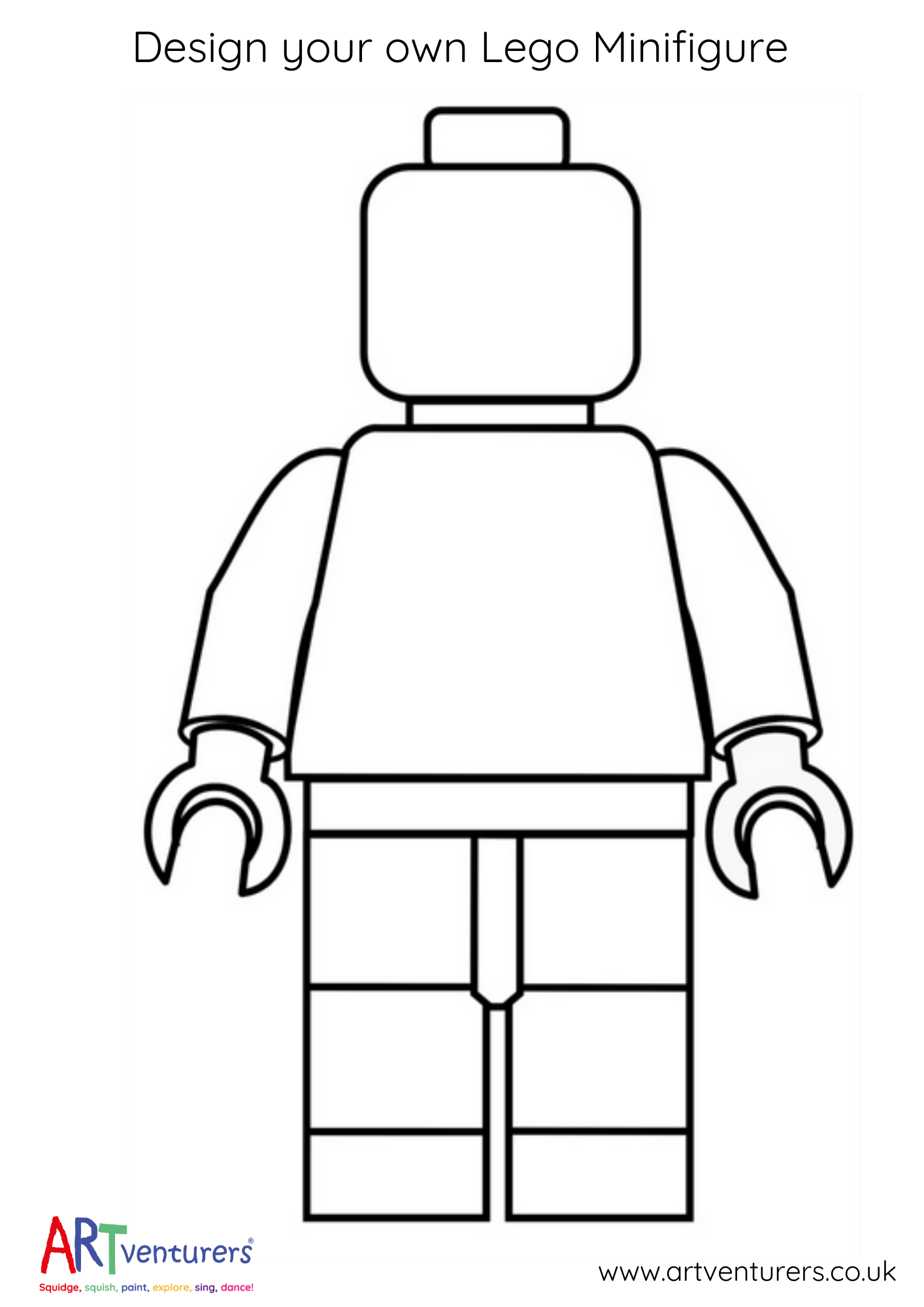 Design Your Own Lego Minifigure