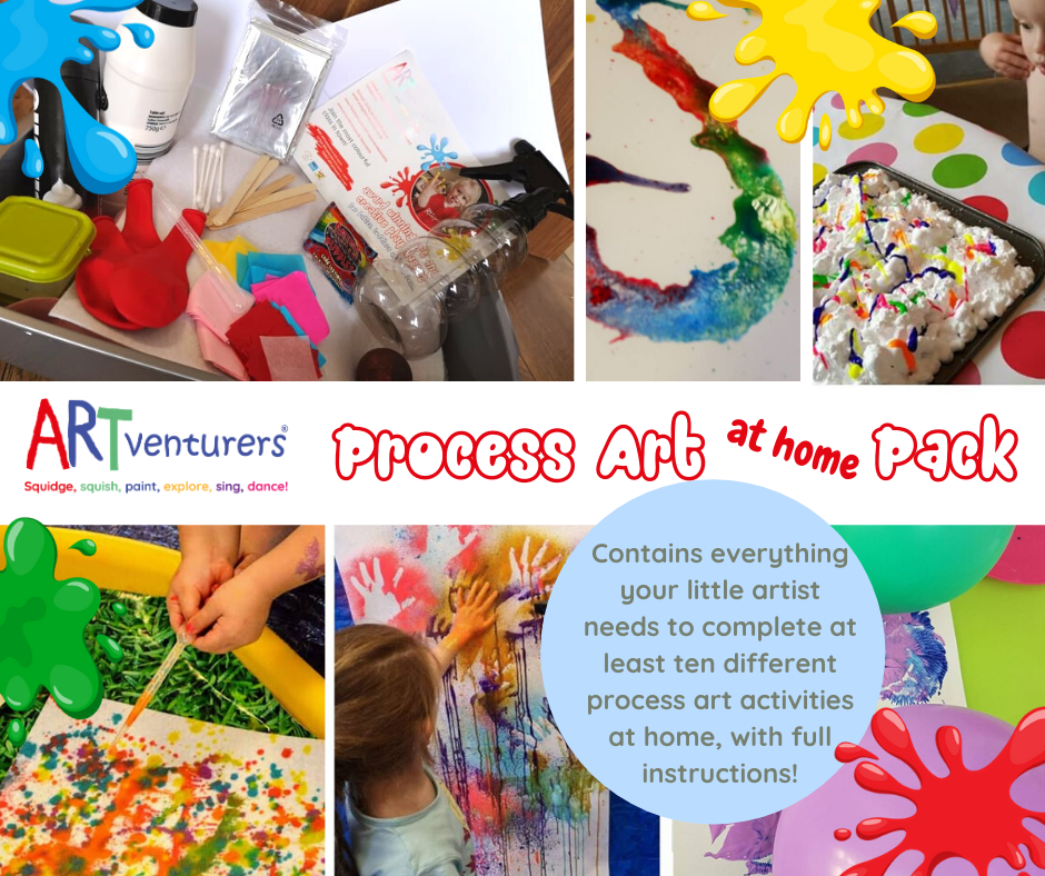 ARTventurers Process Art At Home Pack!